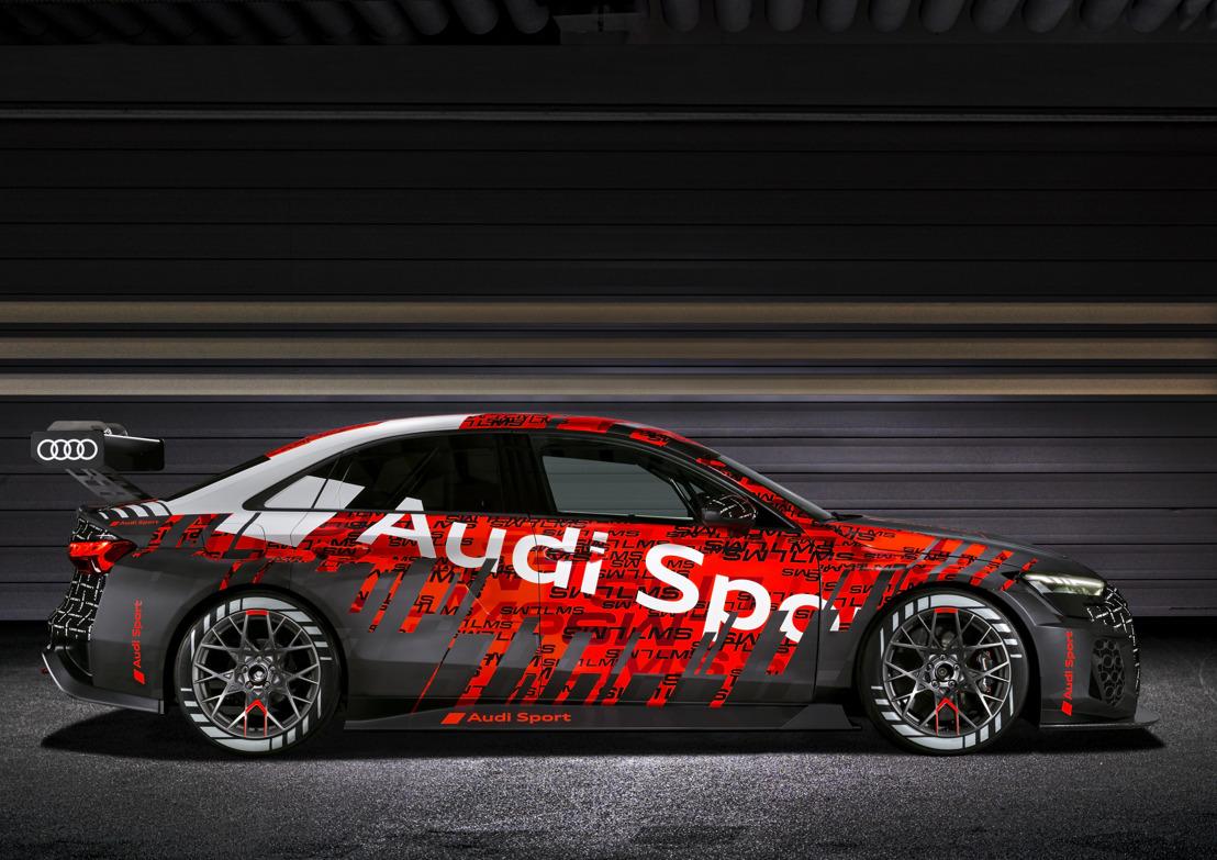 Wereldpremière van de nieuwe Audi RS 3 LMS