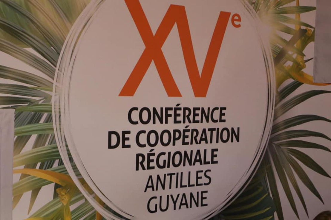 Le Président du Conseil exécutif de la Collectivité Territoriale de Martinique à la 15ème Conférence de Coopération Régionale