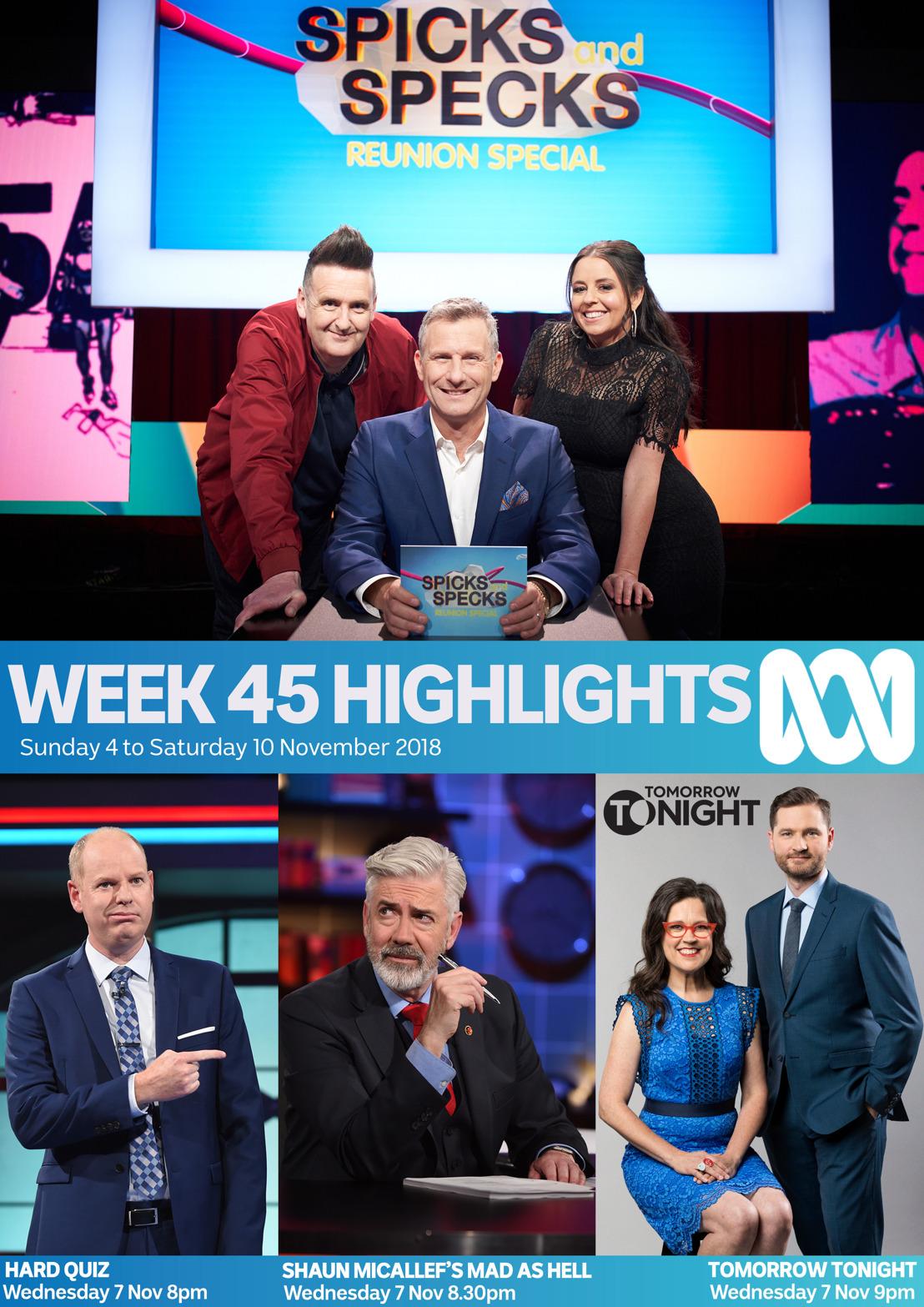 ABC TV Program Highlights - Week 45