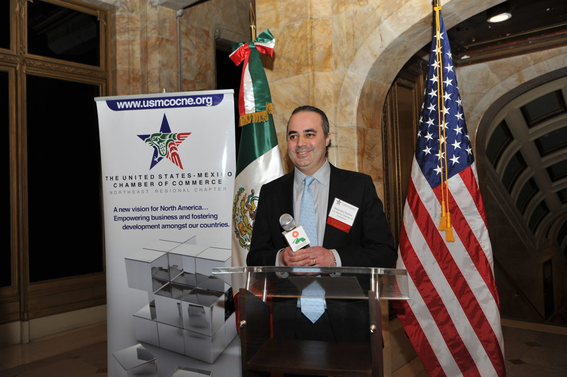 Alejandro Ramos, Director Ejecutivo de la Cámara de Comercio México-Estados Unidos en Nueva York