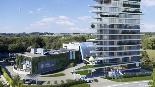 Living Tomorrow en 30 toonaangevende bedrijven en organisaties bouwen de toekomst in Vilvoorde.