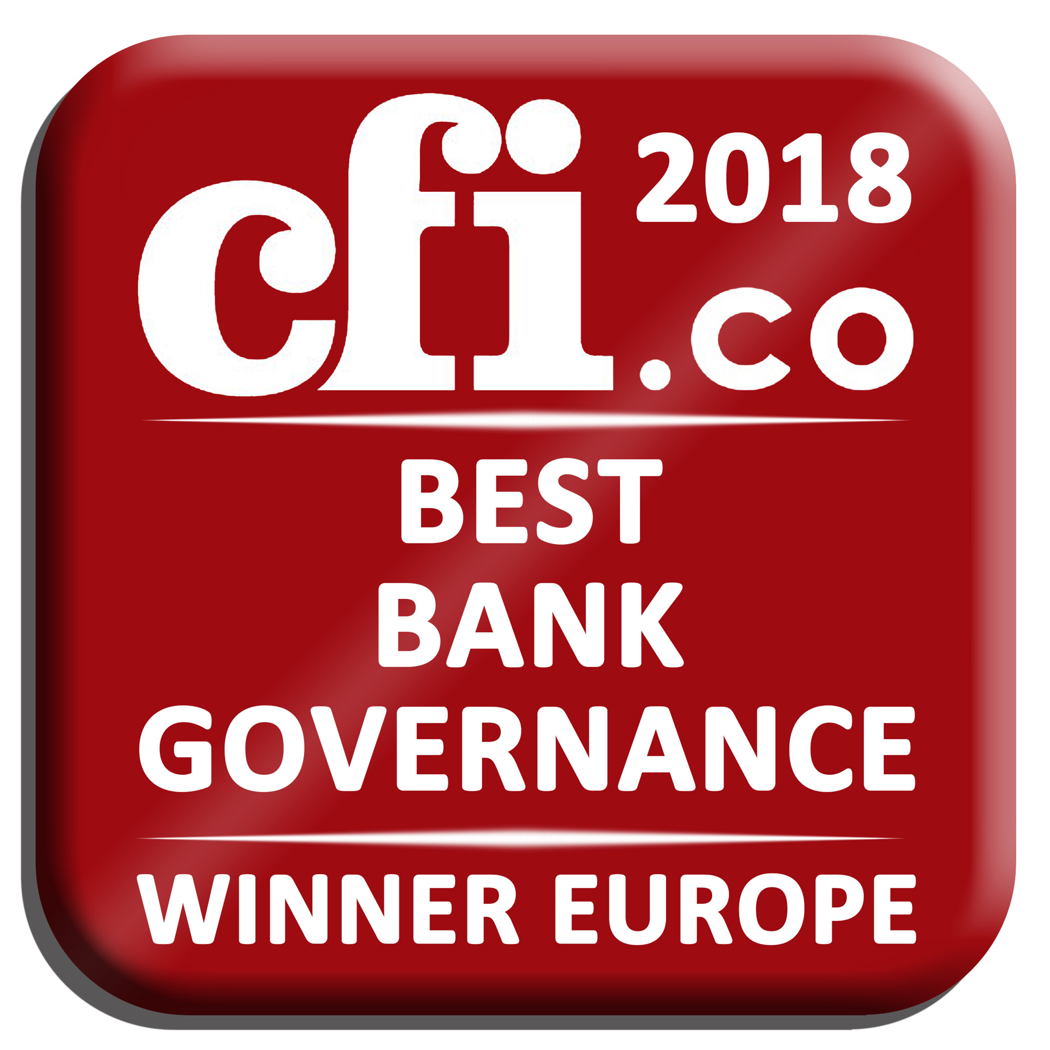 KBC recognised for 'Best Bank Governance in Europe'