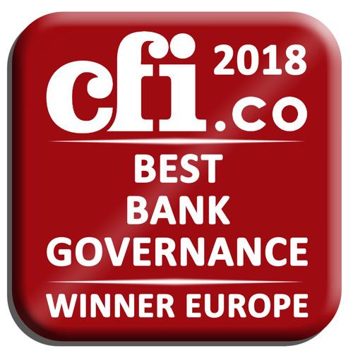 "KBC bekroond voor ""Best Bank Governance in Europe"""