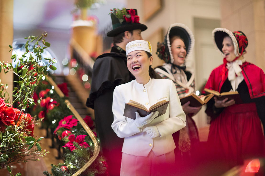 The Peninsula New York Page Caroling