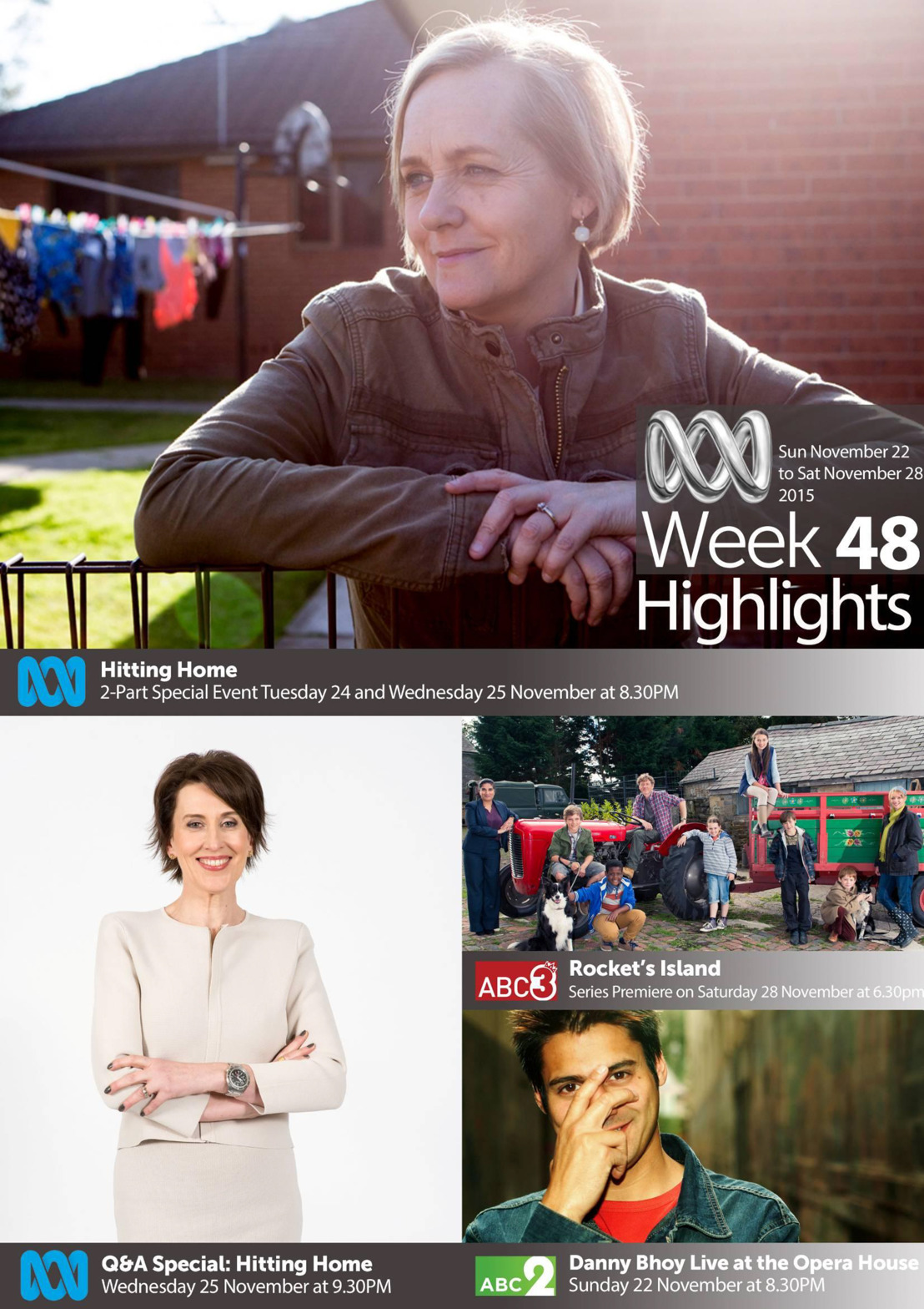ABC TV Highlights - Week 48