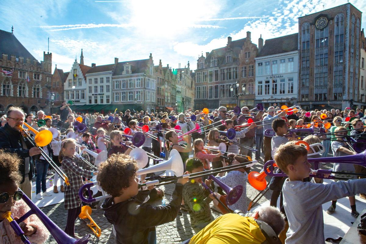 Grote Markt Brugge – Iedereen Klassiek 2019 – © VRT