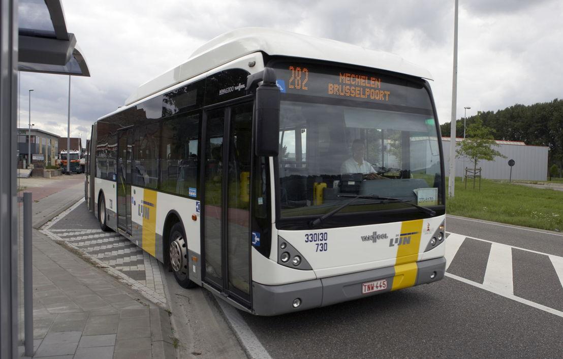 Ook van lijn 282 worden de rijtijden aangepast.