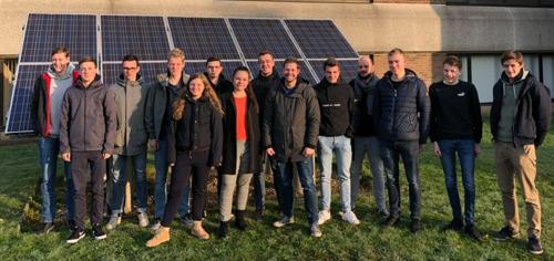Studenten geven energieadvies