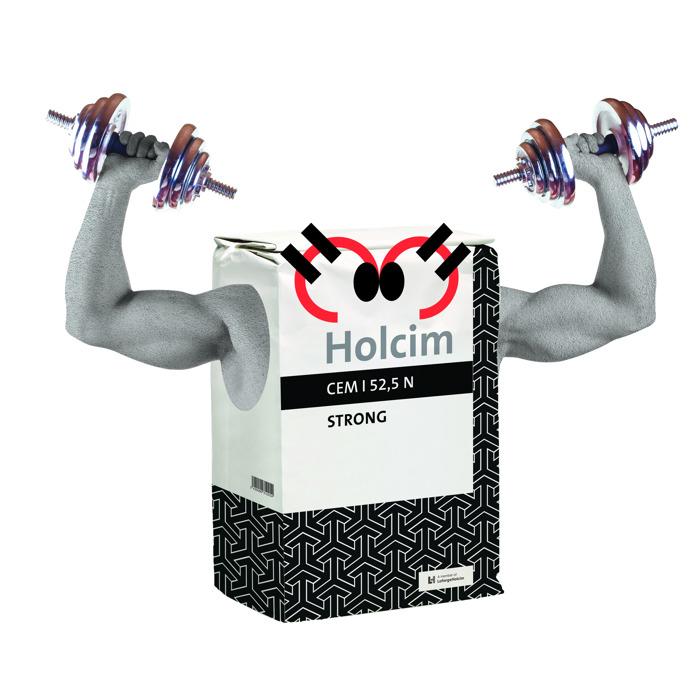 Holcim Strong: het ultraperformante cement ideaal voor de winterperiode
