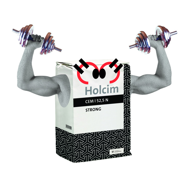 Holcim Strong: het ultraperformante cement ideaal voor de winterperiode