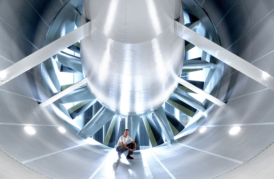 Heat, cold and wind speeds up to 250 km/h: Volkswagen inaugurates new Wind Tunnel Efficiency Center