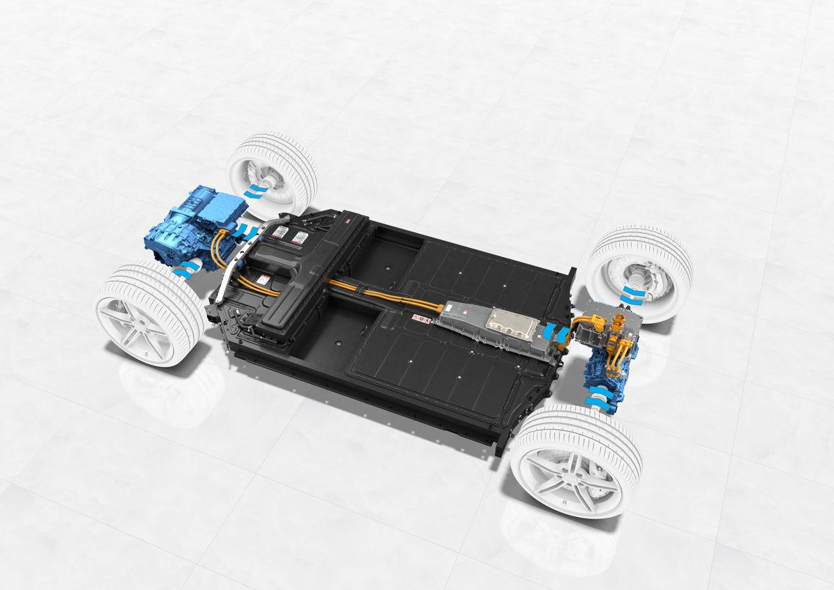 Taycan Turbo S: recuperación de energía - sistema eléctrico y componentes.