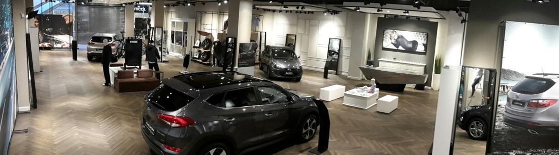 Hyundai opent eerste eerste pop-up Brandstore in Waasland shopping center