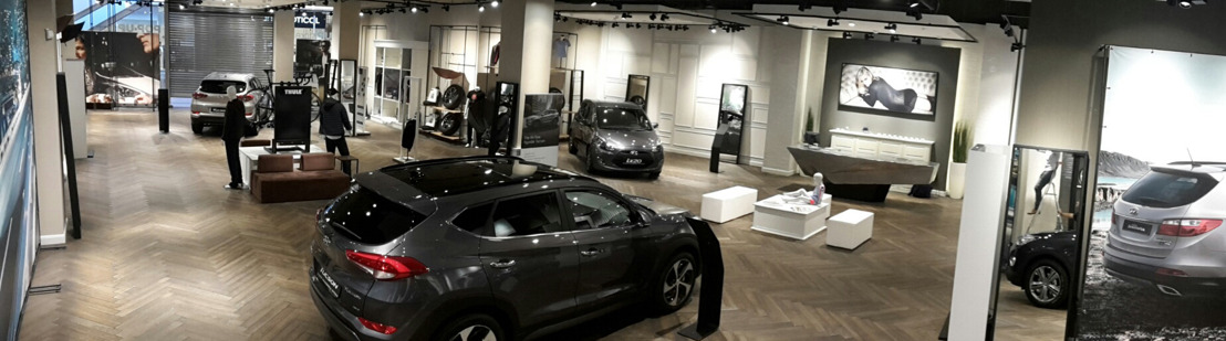 Hyundai opent eerste eerste pop-up Brandstore in Waasland shopping center