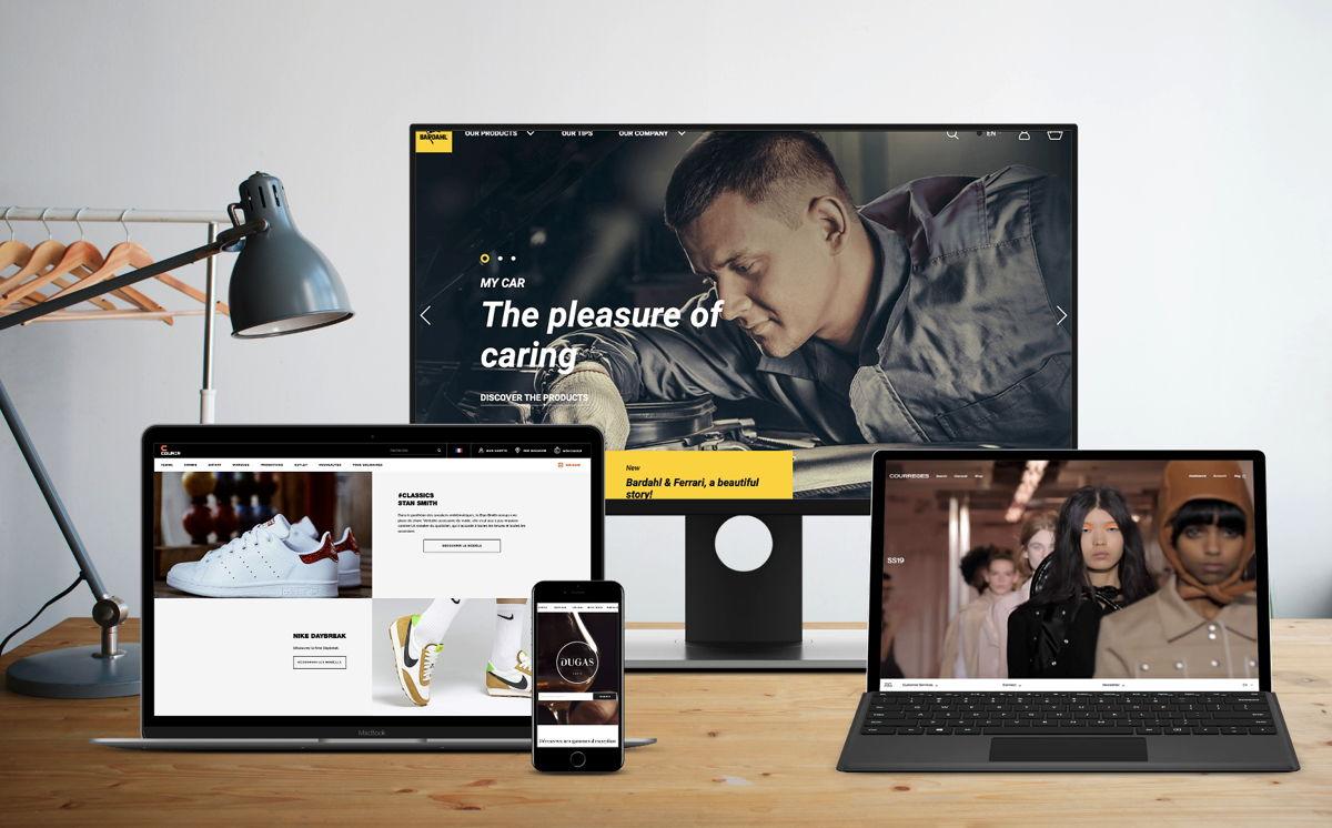 Quatre projets e-commerces d