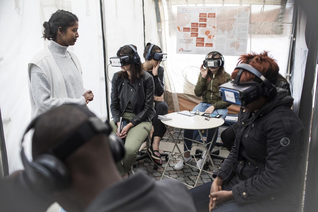 Ankündigung: Eröffnung der multimedialen Ausstellung von MSF in Biel