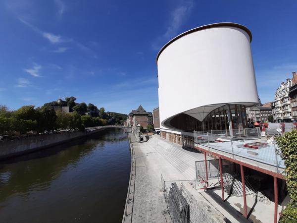 Preview: Rénovation du DELTA : une façade saisissante dans le paysage subtil de Namur