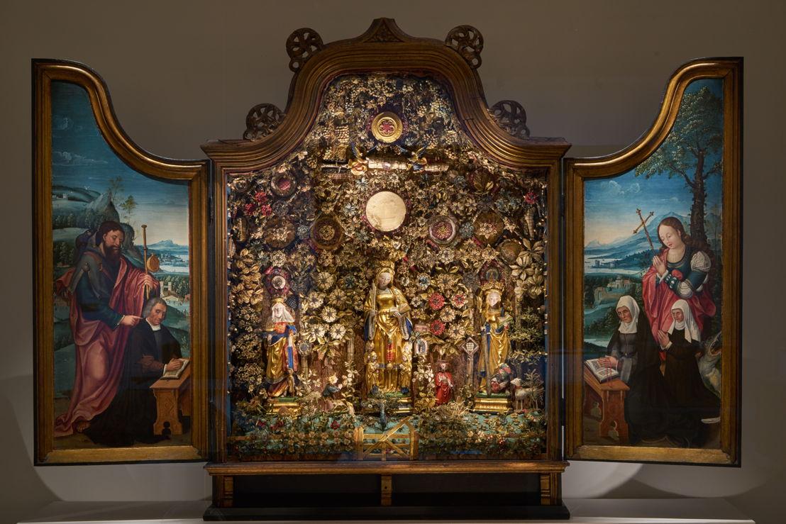 Vue sur l&#039;exposition &#039;à la recherche d&#039;Utopia&#039; au M-Museum Leuven<br/>Photo (c) Dirk Pauwels