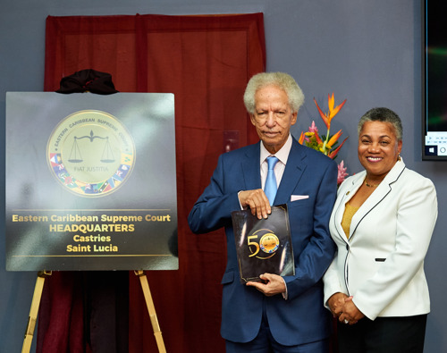 The Eastern Caribbean Supreme Court brings Golden Anniversary Celebrations to an Official Close