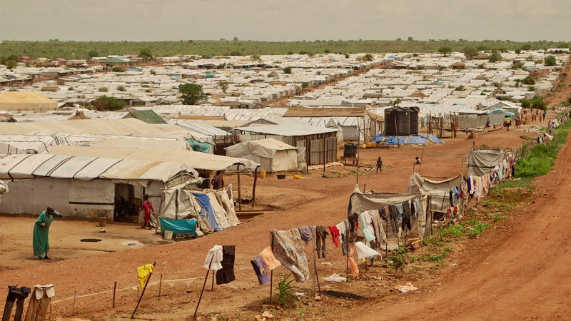 Displaced persons' camp