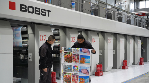 Water-based gravure printing: working together for a sustainable future