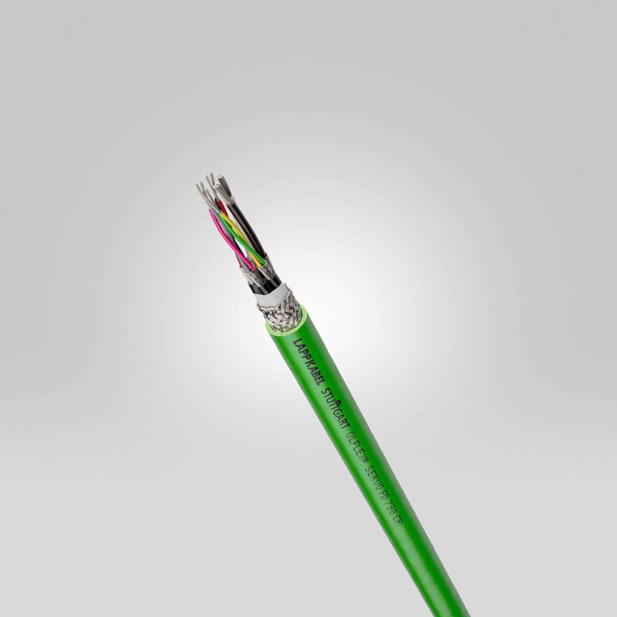 ÖLFLEX® SERVO FD 798 CP enables highly dynamic cable chain applications.