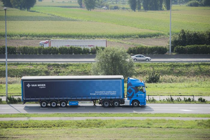 Grote Belgische transporteur ziet ongevallen en boetes in jaar tijd met 11% dalen