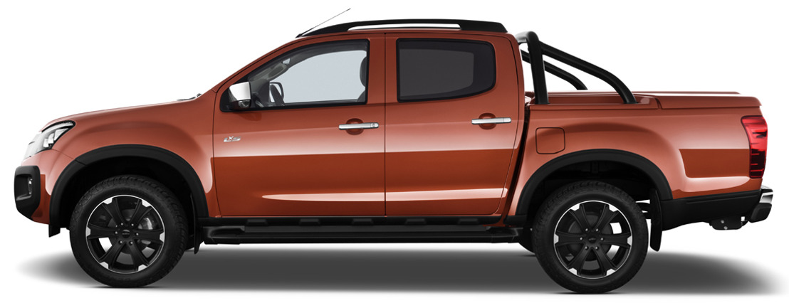 Unieke D-Max Katana Limited Edition gaat in première op de Brussels Motor Show 2015.