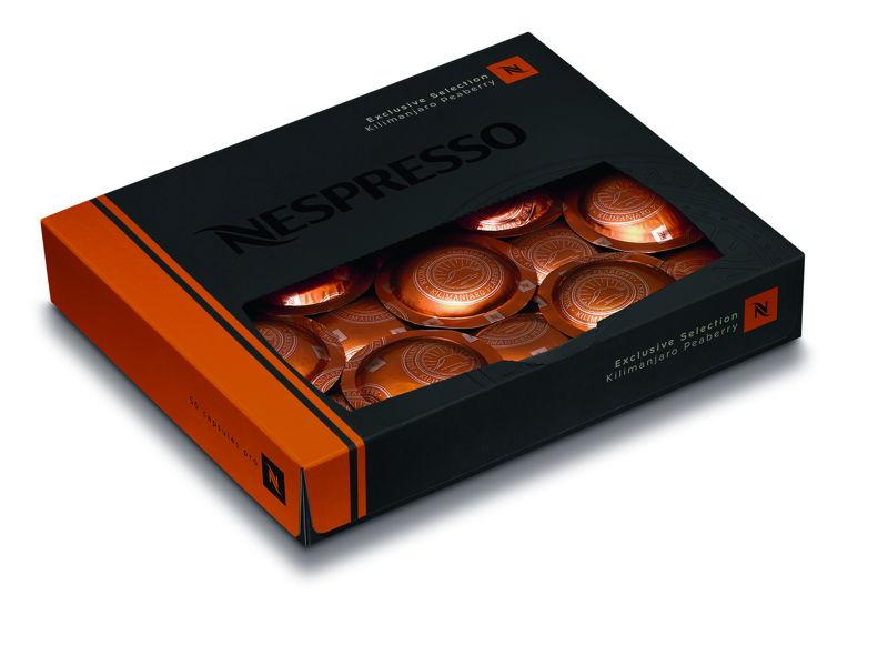 Nespresso Exclusive Selection Kilimanjaro Peaberry