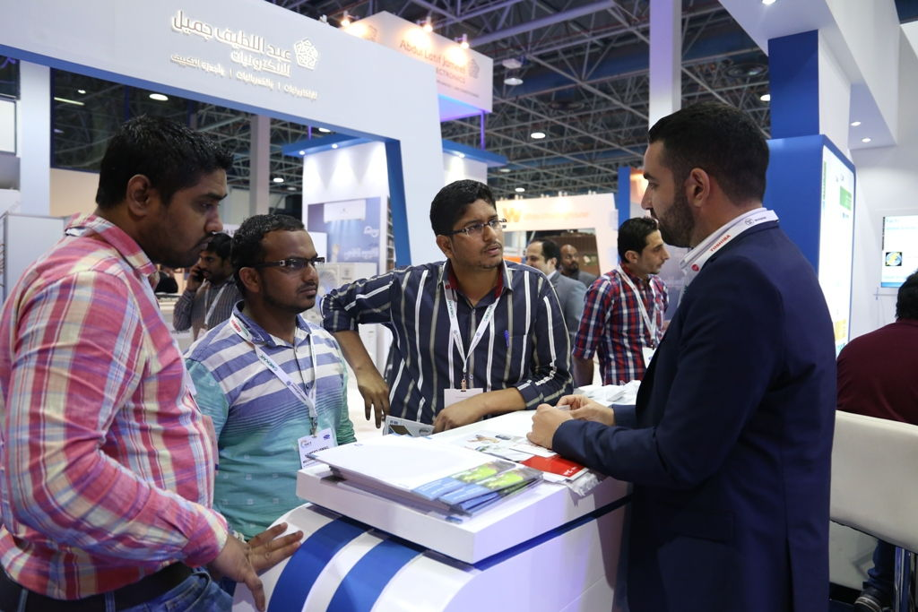 Business at HVACR Expo Saudi 2017