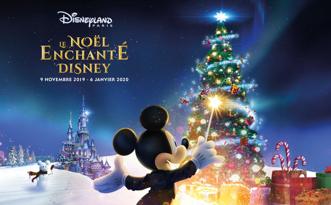 🎄 Ervaar de betovering van de magische kerst extravaganza van 9 november 2019 tot 6 januari 2020 in Disneyland® Paris 🎄