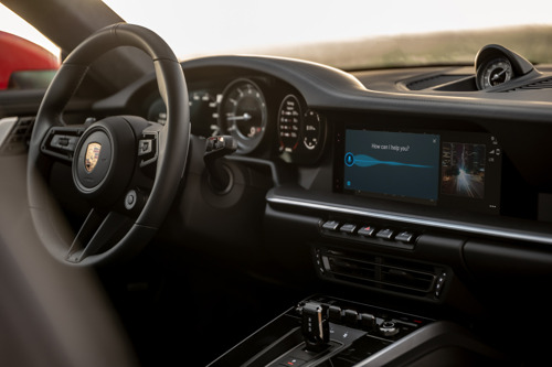 New Porsche infotainment: knows more, does more and is a better listener