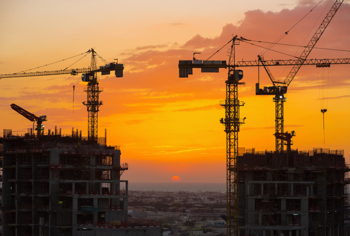 تنبؤات بوصول قيمة عقود البناء الممنوحة في منطقة مجلس التعاون الخليجي إلى 85.6 مليار دولار أمريكي في 2017