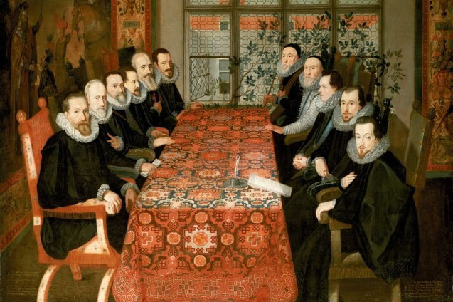 The Somerset House Conference, 1604 © Londen, National Portrait Gallery