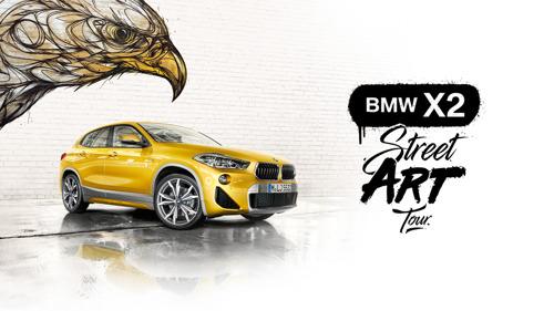 Air et BMW transforment les essais en parcours découverte de street art.