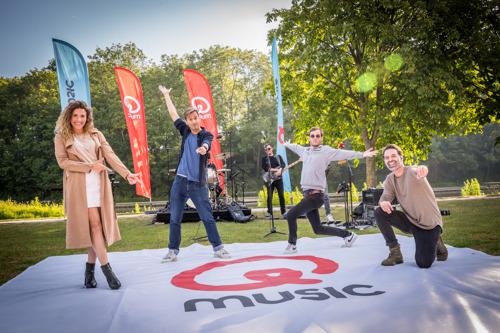 Qmusic maakt deze zomer radio vanop de Q-Hotspot