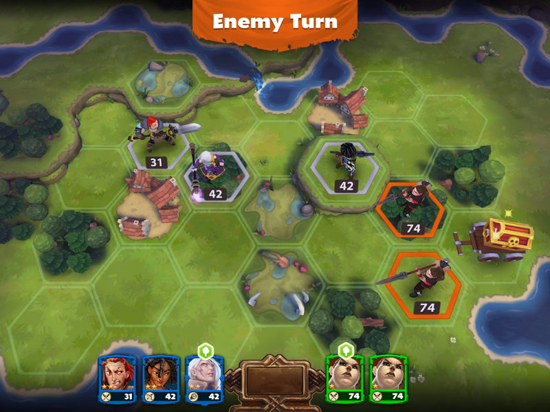 Warlords of Aternum Screenshot