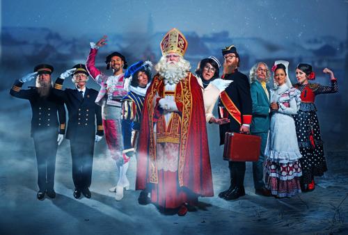 Opnames nieuwe reeks Dag Sinterklaas volop aan de gang