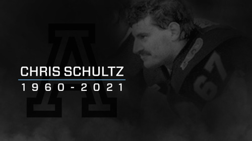 A STATEMENT FROM THE CANADIAN FOOTBALL LEAGUE ON THE PASSING OF CHRIS SCHULTZ