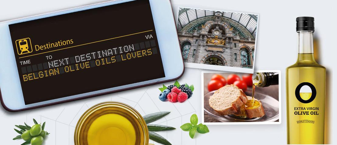 Spaans vloeibaar goud arriveert in Antwerps Centraal Station : Belgen slurpen 22.000 ton olijfolie op