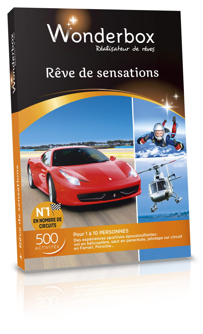 Wonderbox - Rêve de sensations - 179,90 €