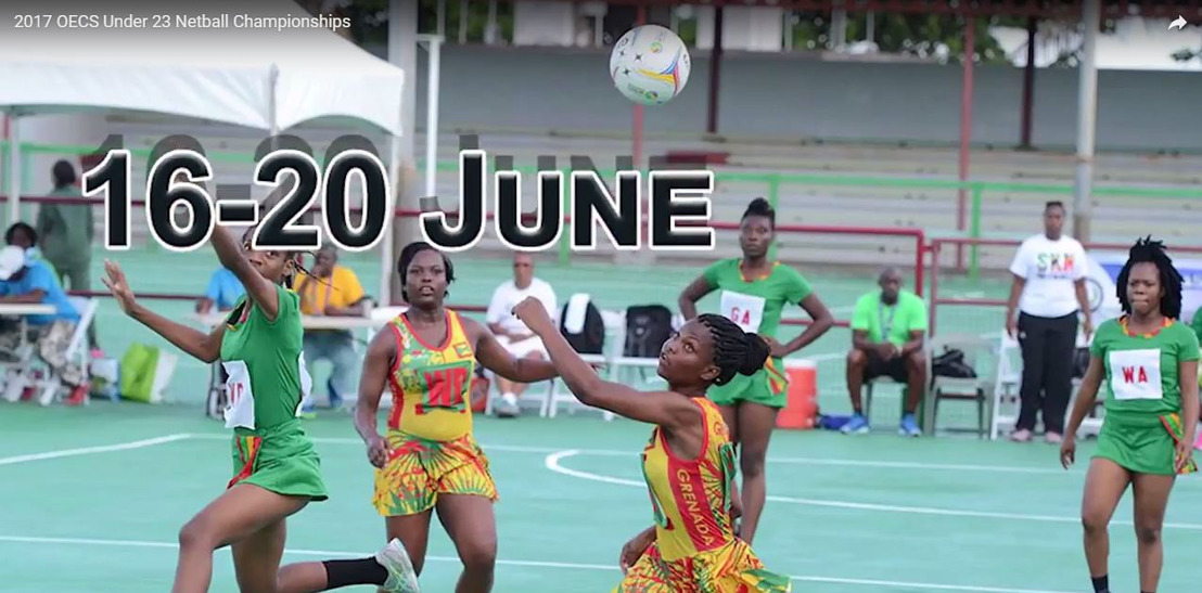 Six Teams Participate in 27th OECS/ECCB Under-23 Netball Tournament