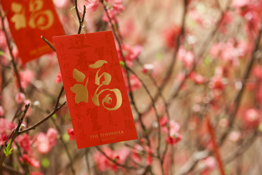 Nouvel An chinois Pochette rouge