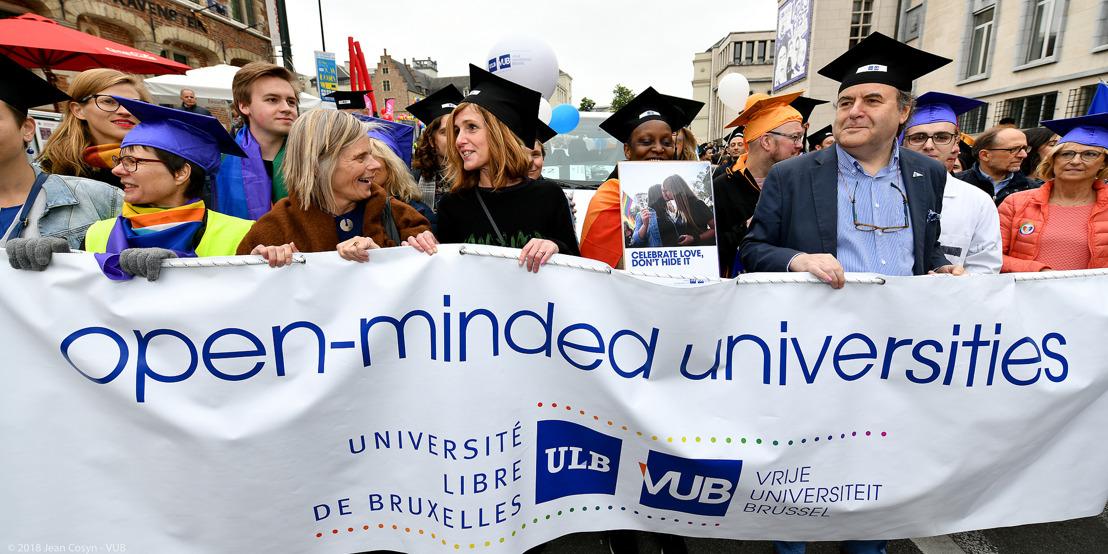 """Internationale Dag tegen Homo-en Transfobie: VUB en ULB willen """"LGBTQ+-vriendelijkere"""" universiteiten"""