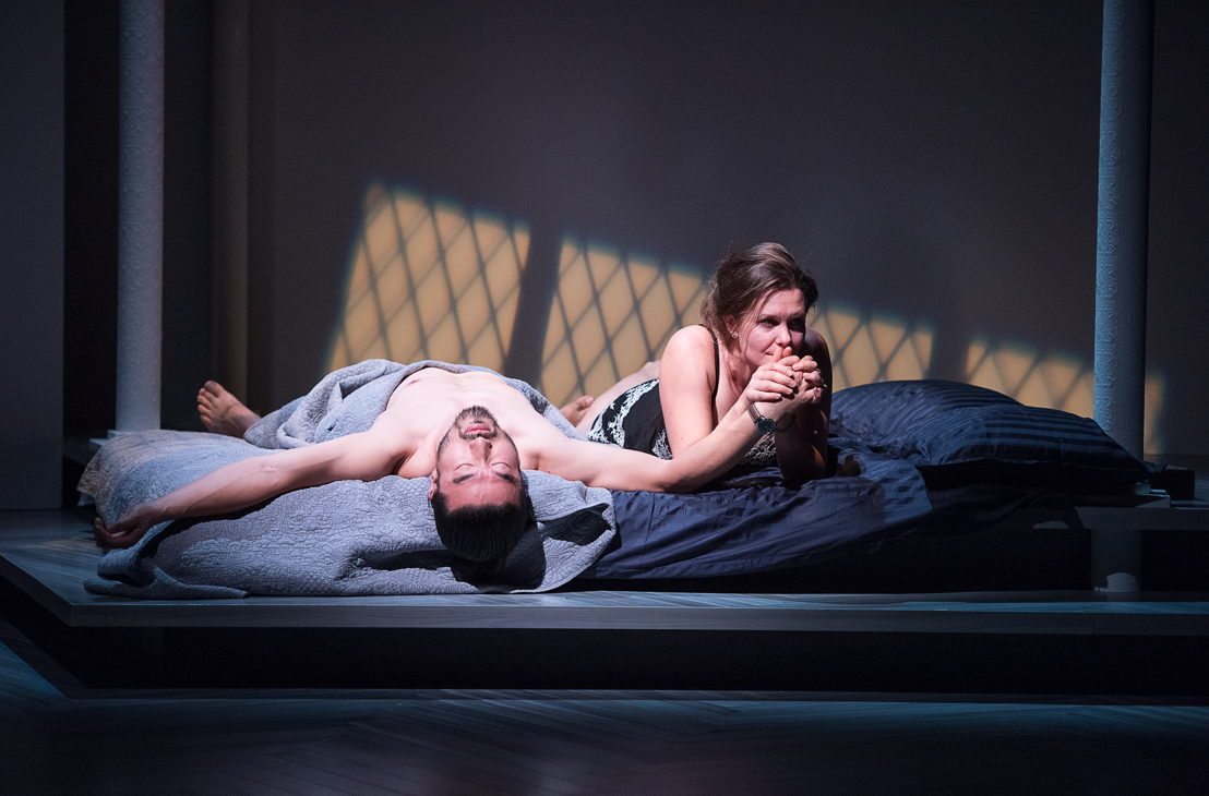 Sean Baek and Celine Stubel in The Last Wife by Kate Hennig / Photos by Emily Cooper