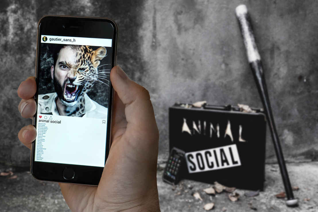 "GAUTIER SANS H : Nouvel album ""Animal Social"", disponible le 28 février"