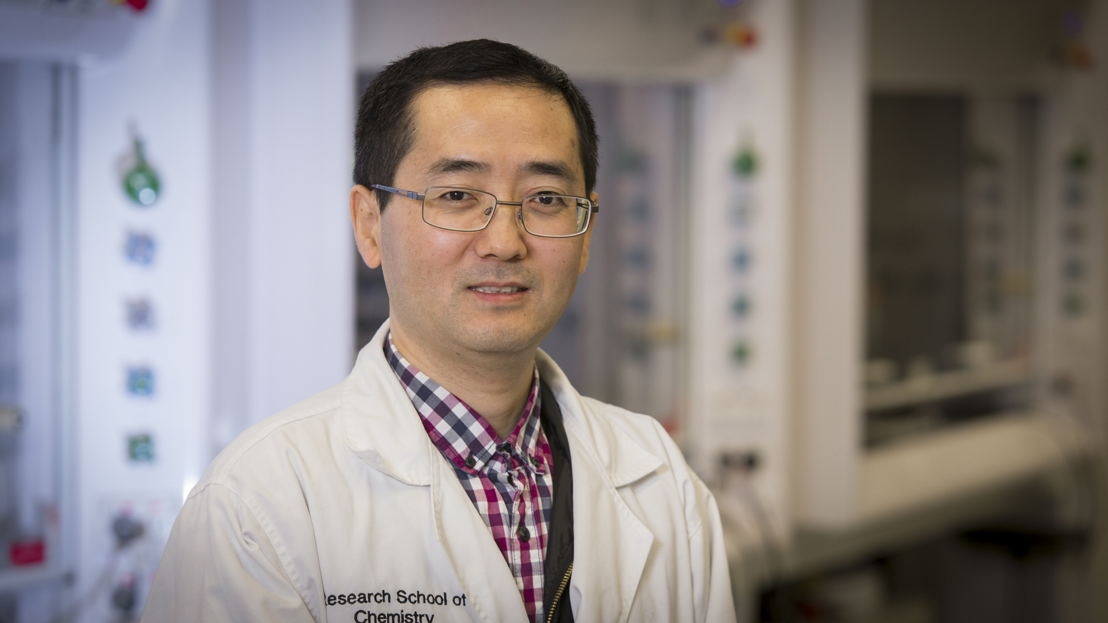 Dr Zongyou Yin from the ANU Research School of Chemistry. Image credit: ANU