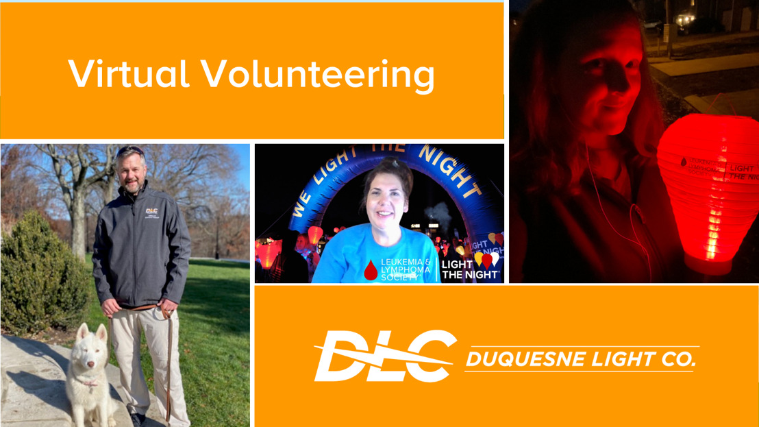 Duquesne Light Employees Give Back Through Virtual Volunteering