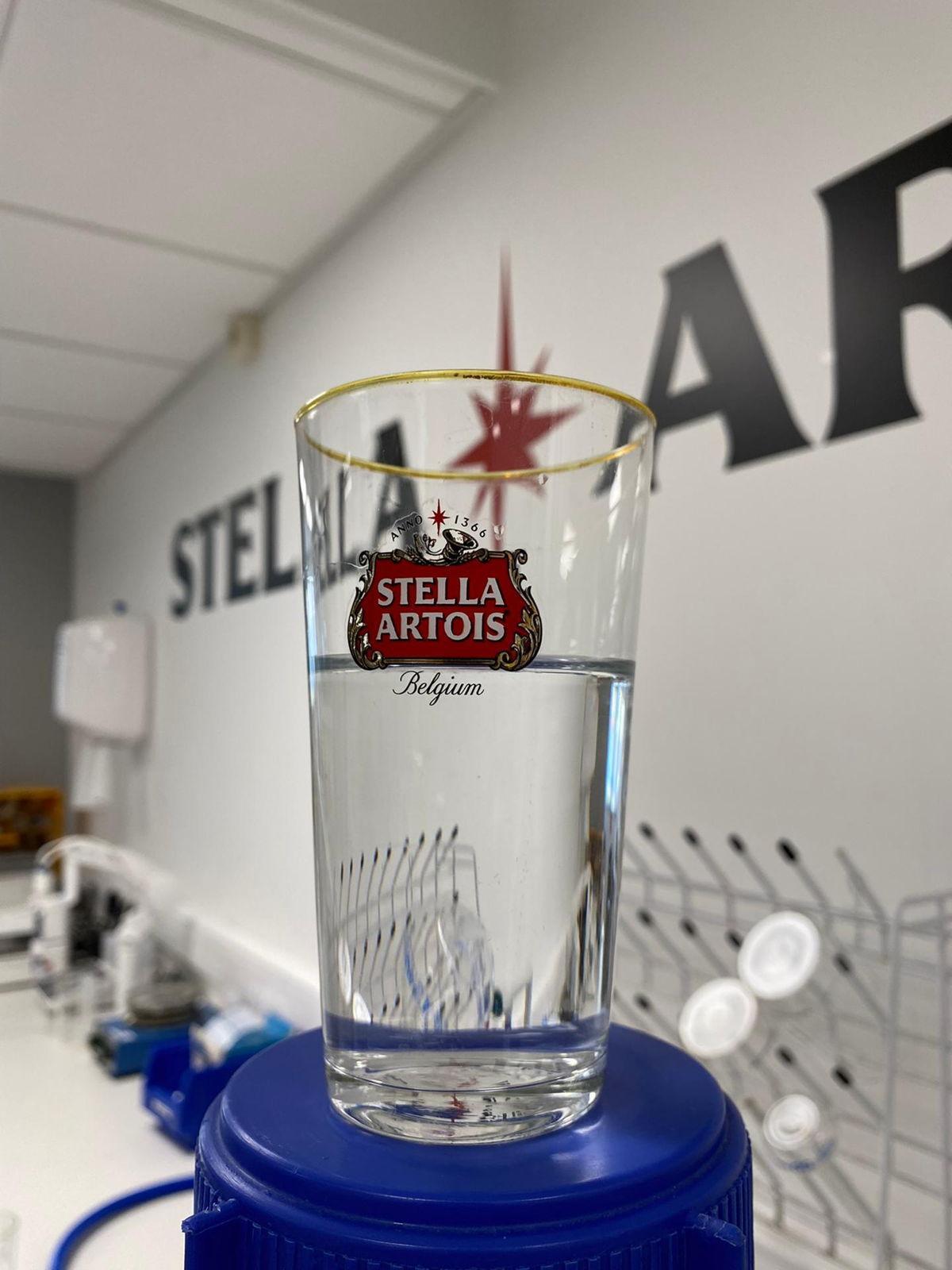 Drinkbaar water uit de Stella Artois brouwerij