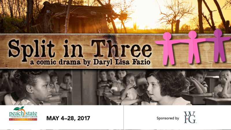 Split in Three (photo credit Aurora Theatre)